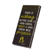 Good Friend with Prosecco Chocolate Bar Gift Card